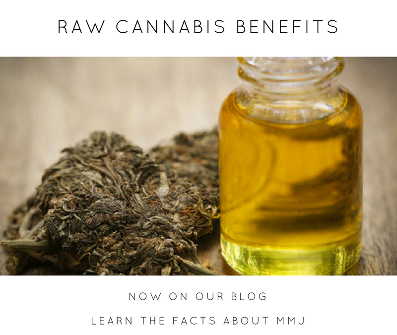 Raw Cannabis Benefits