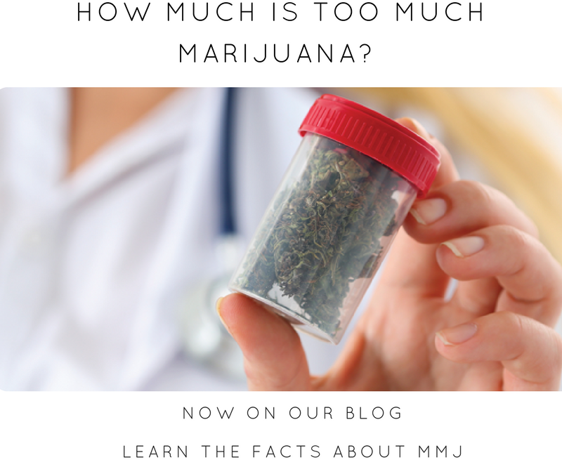 HOW MUCH IS TOO MUCH MARIJUANA?