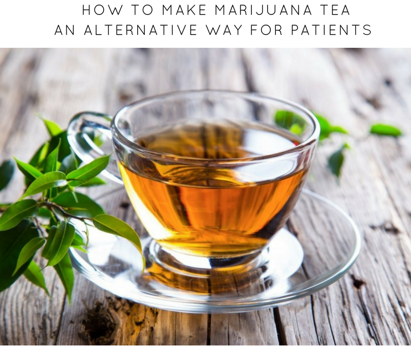 Marijuana Tea an Alternative For Patients