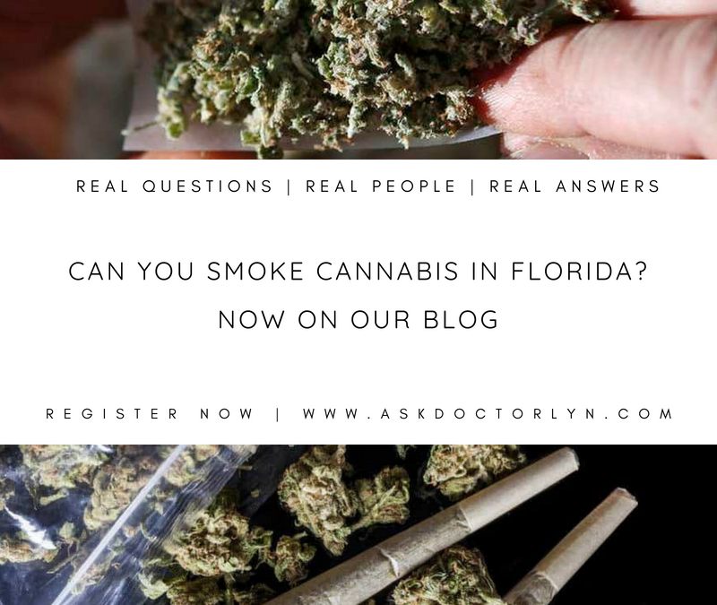 Can you Smoke Cannabis in Florida?